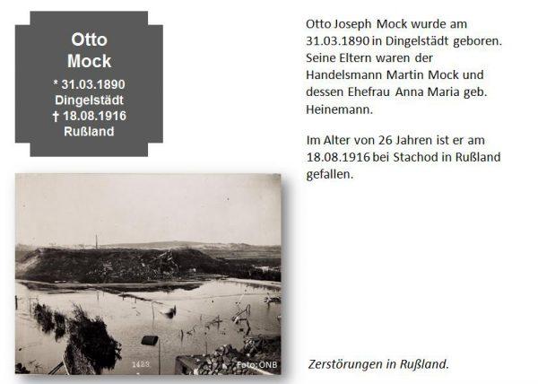 Mock, Otto