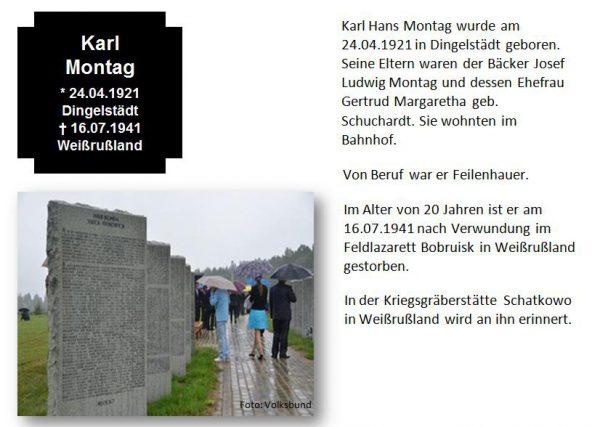 Montag, Karl