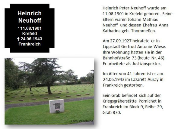 Neuhoff, Heinrich