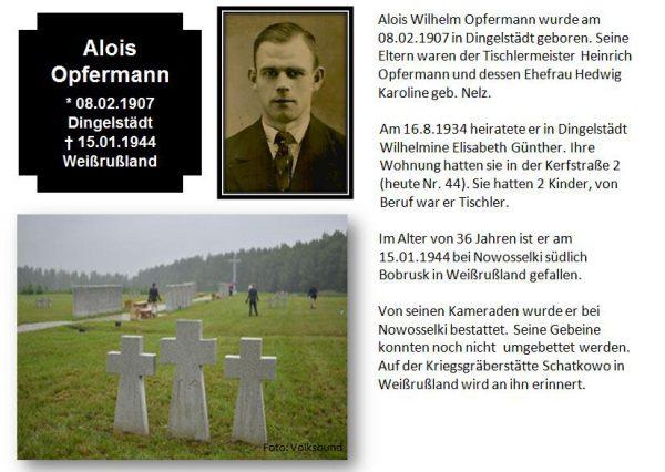 Opfermann, Alois