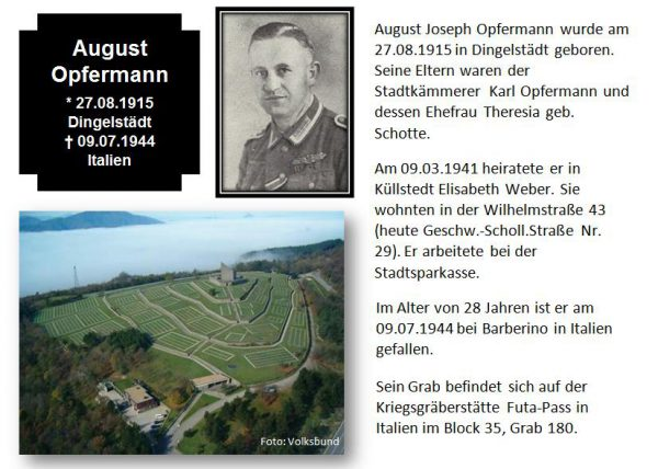 Opfermann, August