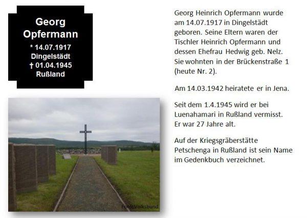 Opfermann, Georg