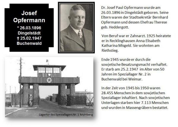 Opfermann, Dr. Josef