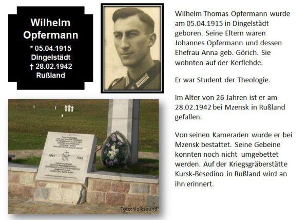 Opfermann, Wilhelm