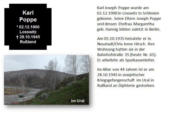 Poppe, Karl