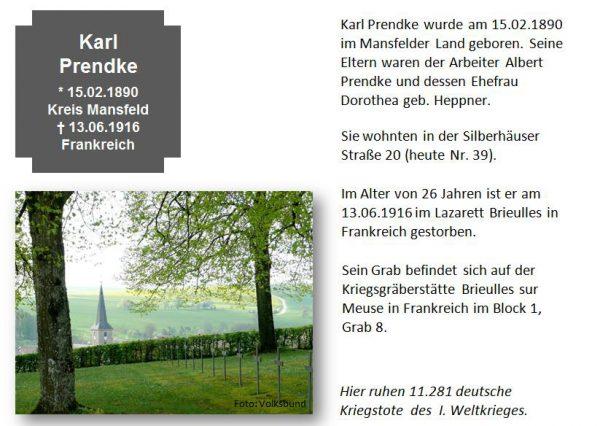 Prendke, Karl