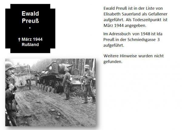 Preuß, Ewald