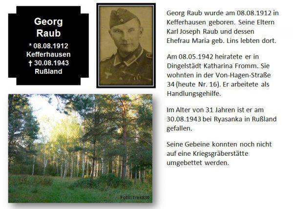 Raub, Georg