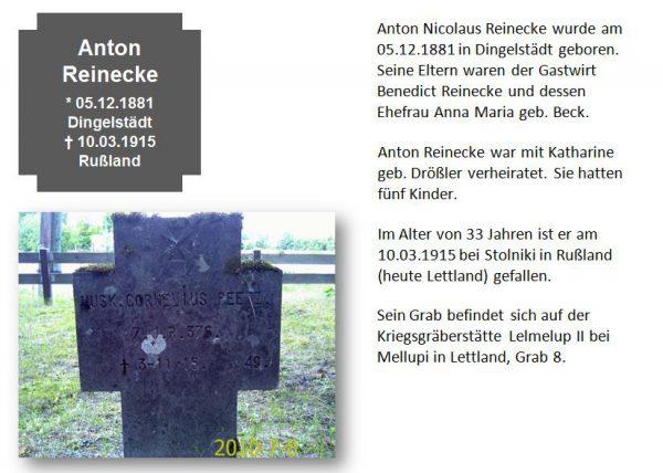 Reinecke, Anton