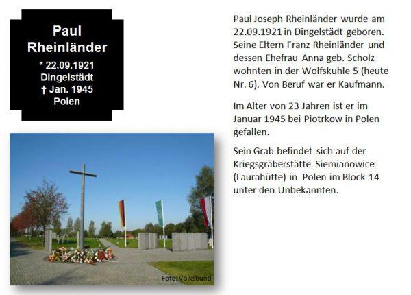 Rheinländer, Paul