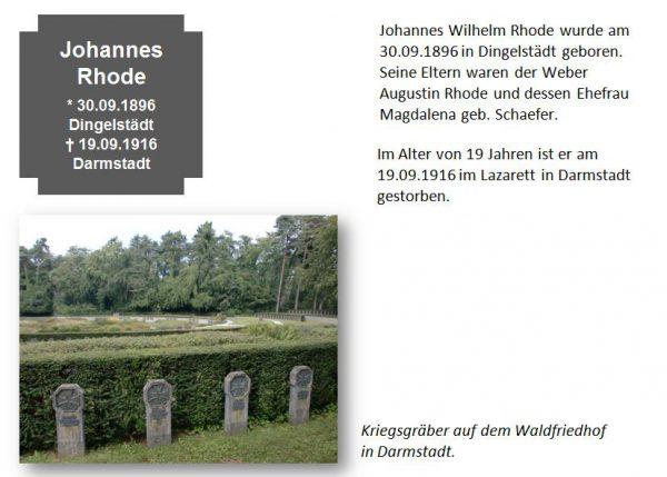 Rhode, Johannes