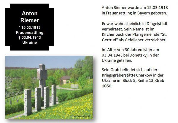Riemer, Anton