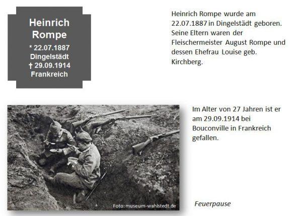 Rompe, Heinrich