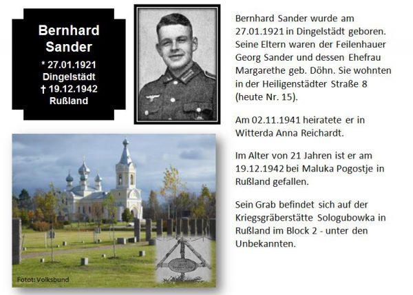 Sander, Bernhard