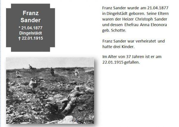 Sander, Franz