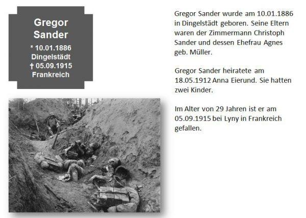 Sander, Gregor