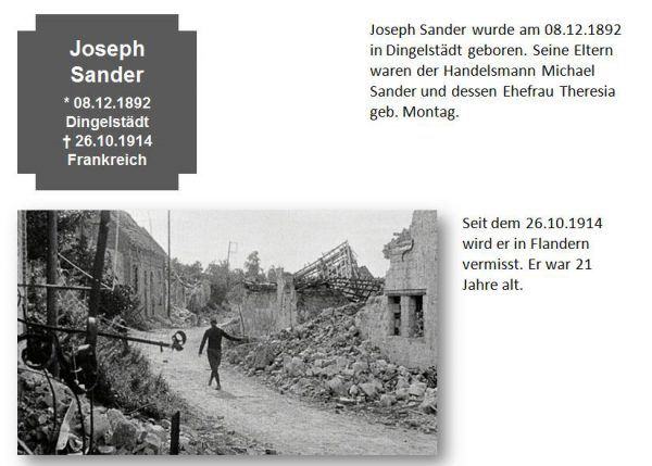 Sander, Joseph