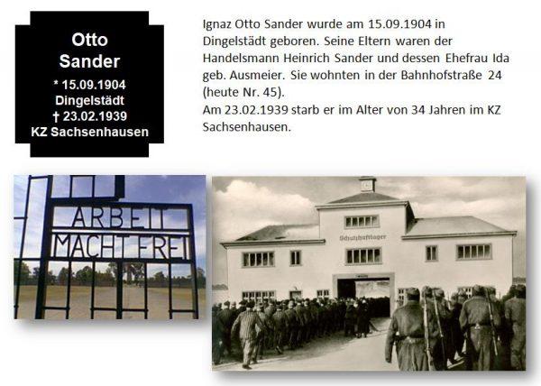 Sander, Otto