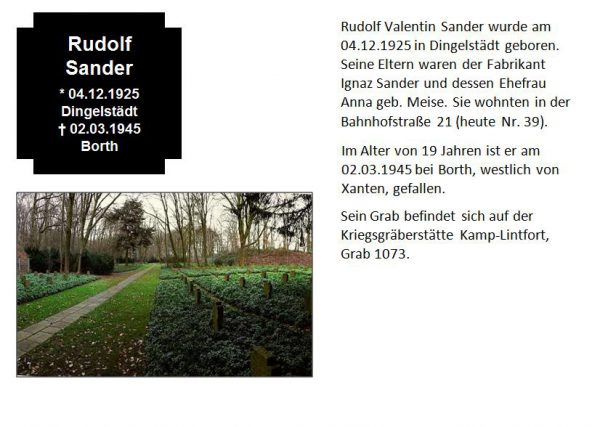 Sander, Rudolf