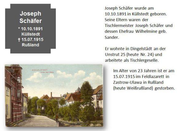 Schäfer, Joseph