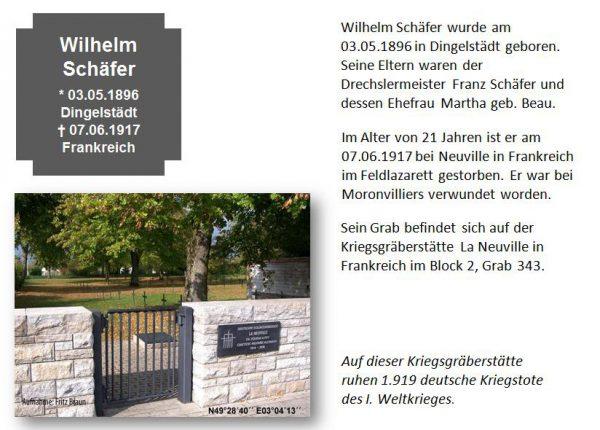 Schäfer, Wilhelm