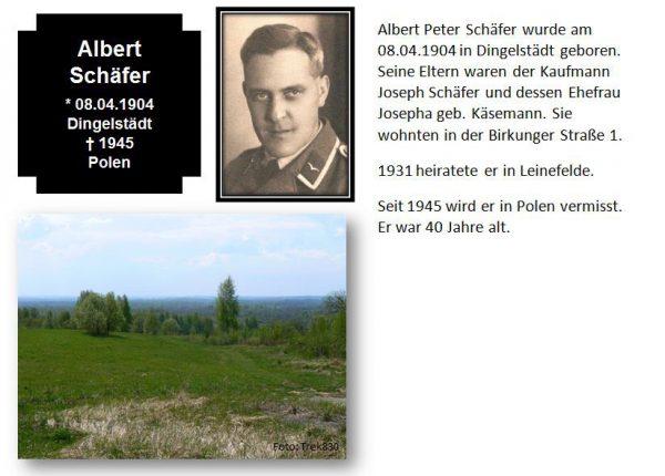 Schäfer, Albert