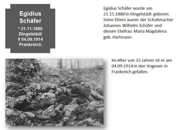 Schäfer, Egidius