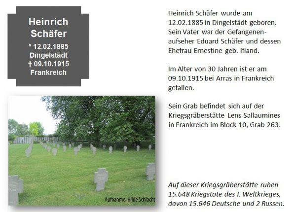 Schäfer, Heinrich