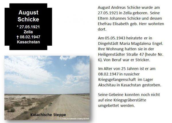 Schicke, August