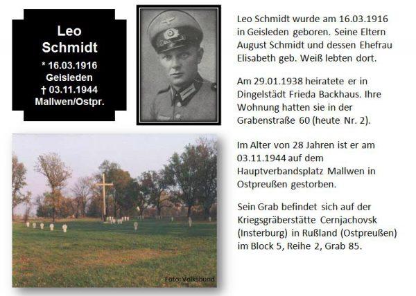 Schmidt, Leo