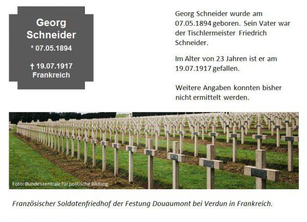 Schneider, Georg