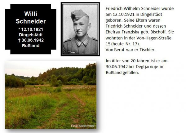 Schneider, Willi