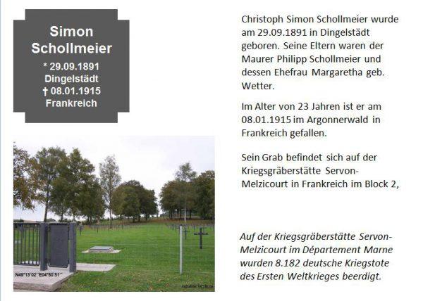 Schollmeier, Simon