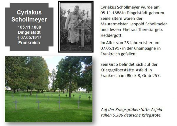 Schollmeyer, Cyriakus