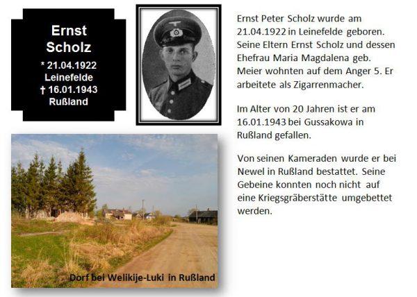 Scholz, Ernst