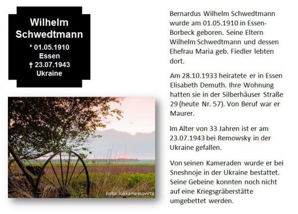 Schwedtmann, Wilhelm