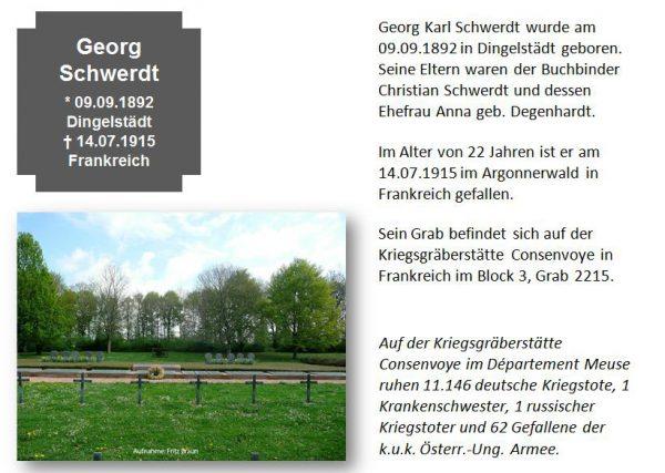 Schwerdt, Georg