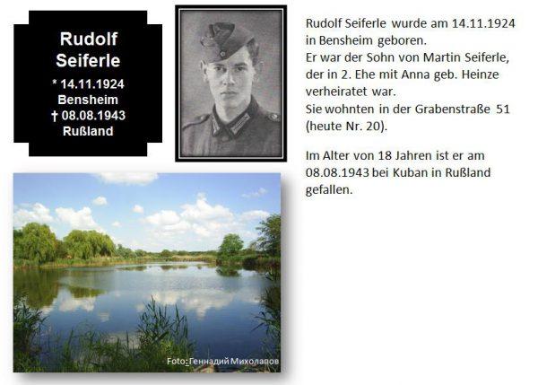 Seiferle, Rudolf