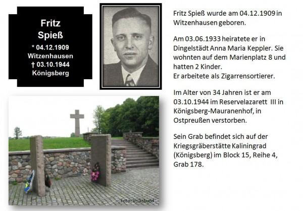 Spieß, Fritz
