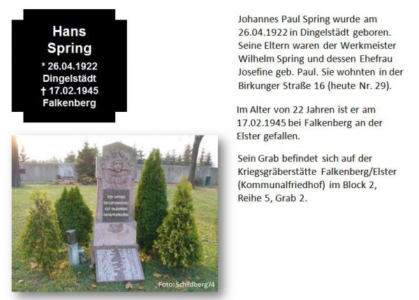Spring, Hans Paul