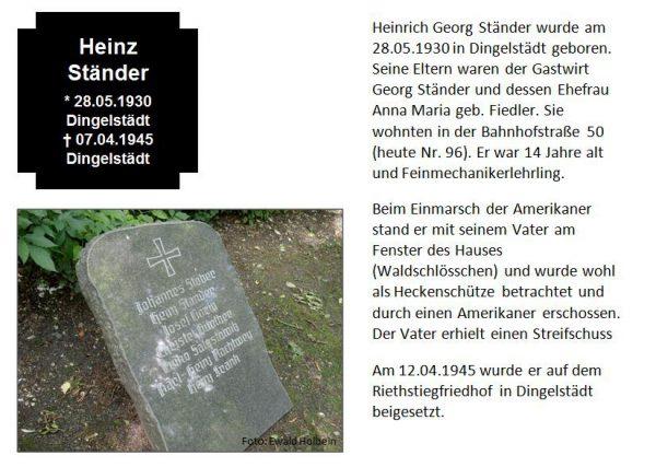 Ständer, Heinz