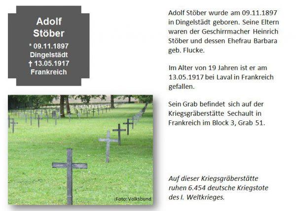Stöber, Adolf