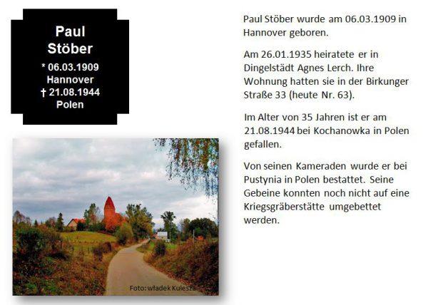Stöber, Paul
