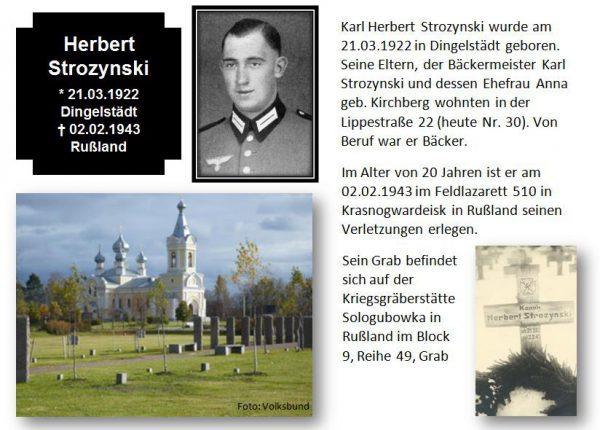 Strozynski, Herbert