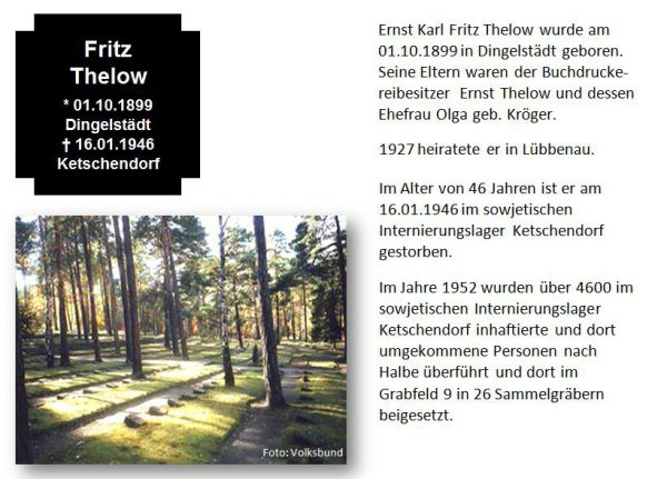 Thelow, Fritz