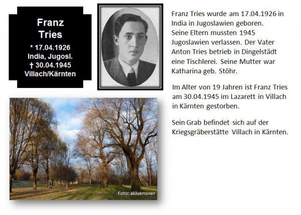 Tries, Franz