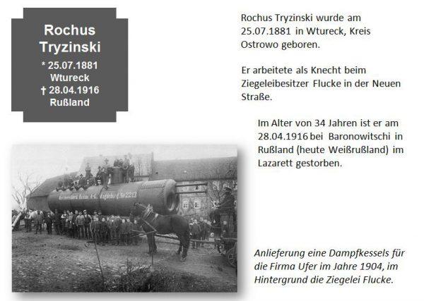 Tryzinski, Rochus