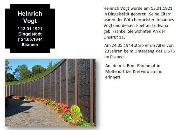 Vogt, Heinrich