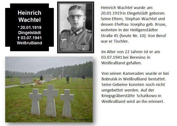 Wachtel, Heinrich