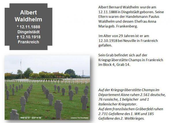 Waldhelm, Albert